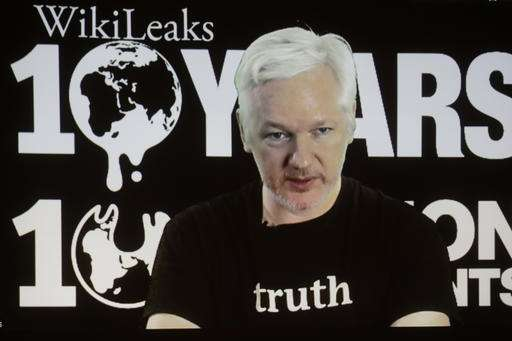 WikiLeaks' Assange promises leaks on US election, Google