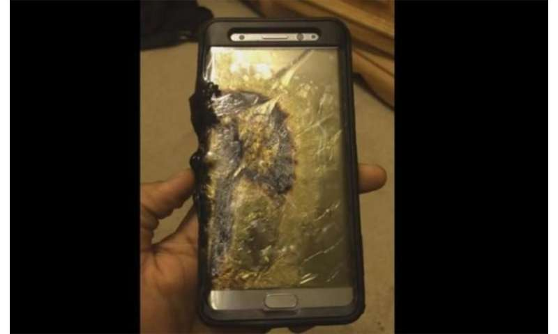 Will airlines ban Samsung phones after their recall for exploding batteries?