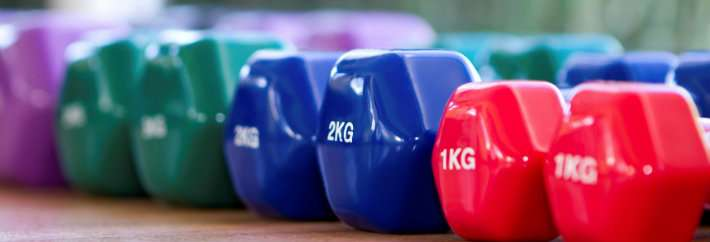 Working out how to stay fit in old age
