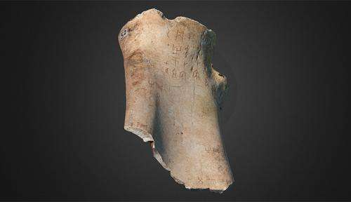 World first as 3,000-year-old Chinese oracle bones go 3D