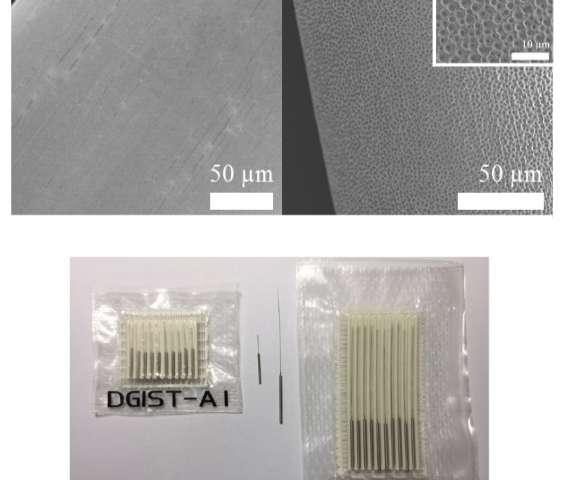 World first porous acupuncture needles enhance therapeutic properties