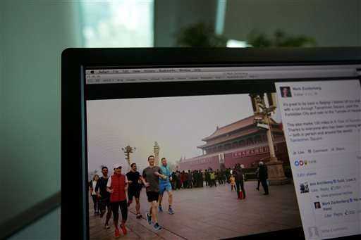 Zuckerberg's run in Beijing's toxic stirs Chinese public