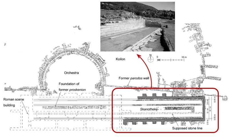 Ancient Greek theaters used moveable stages more than 2,000 years ago