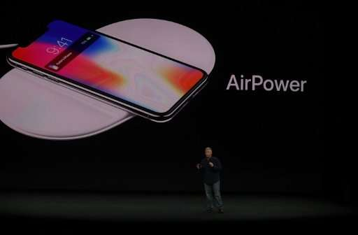 Apple's new iPhone X will include features such as wireless charging, which is available on competing devices