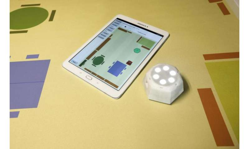 A robot to help visually impaired schoolchildren find their way