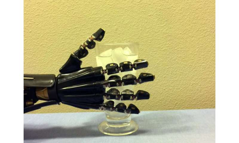 Artificial 'skin' gives robotic hand a sense of touch