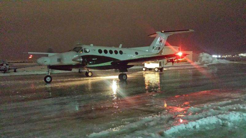 Atmospheric scientists take to the skies to test cloud seeding for snow
