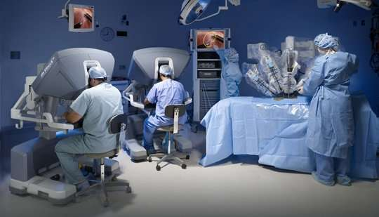 Availability of robotic prostate cancer surgery could be a bigger draw for patients than quality of hospital