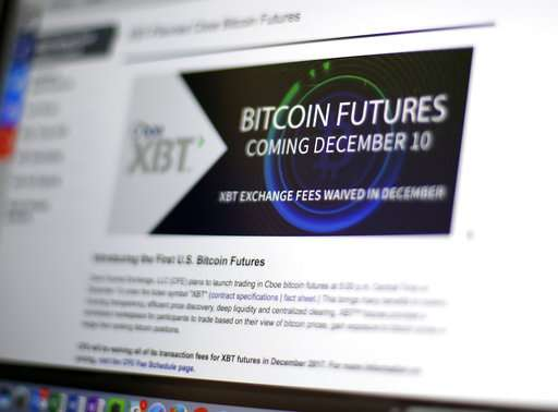 Bitcoin futures soar amid frenzy over virtual currency (Update)
