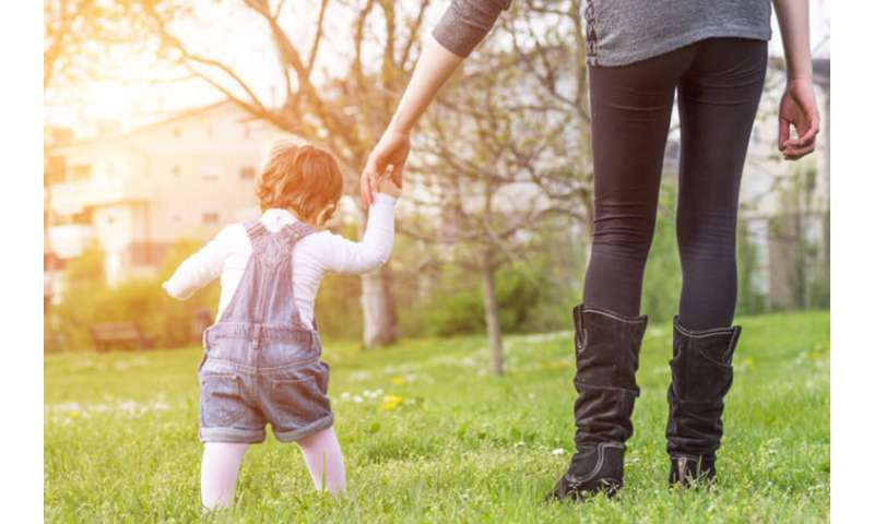 Brain networks that help babies learn to walk ID'd