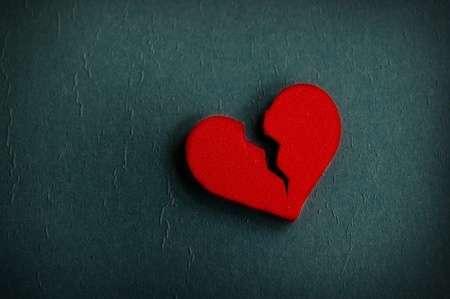 Broken hearts don't self-heal