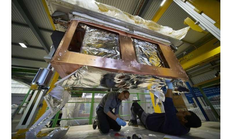 Colliding protons head-on
