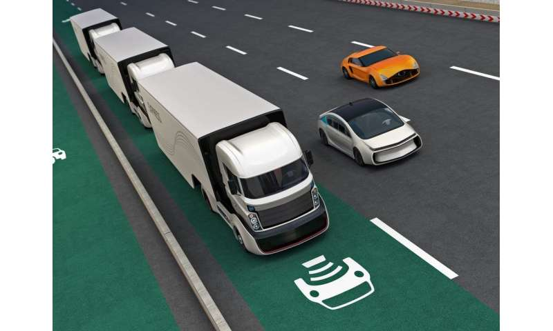 Coming soon to a highway near you—truck platooning