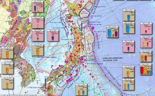 Completion of the eastern asia earthquake and volcanic hazards completion of the eastern asia earthquake and volcanic hazards information map gumiabroncs Gallery