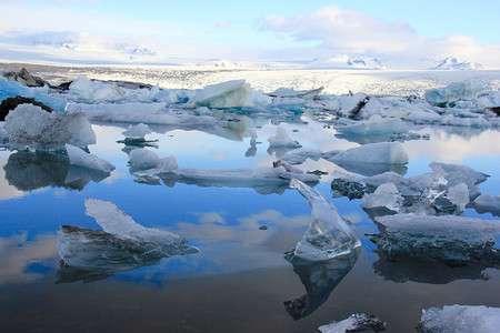 Computer model shows breakup of iceberg logjams