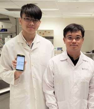 Countingmicrobes on a smartphone