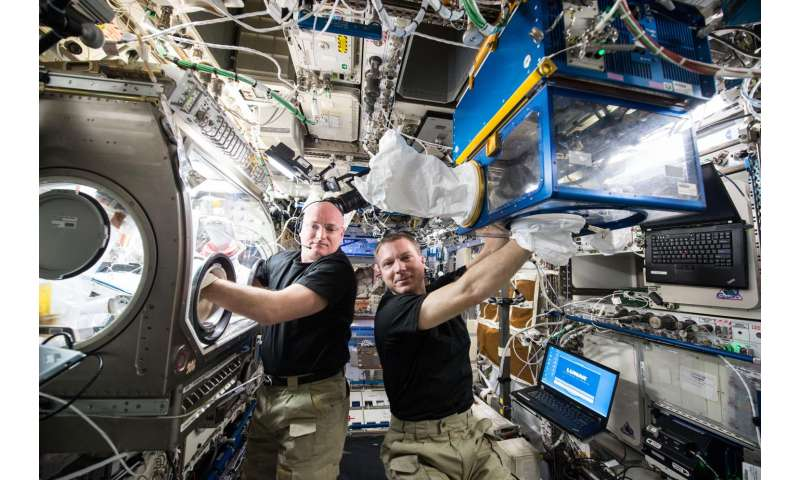 Crystal growth, earth science and tech demo research launching to orbiting laboratory