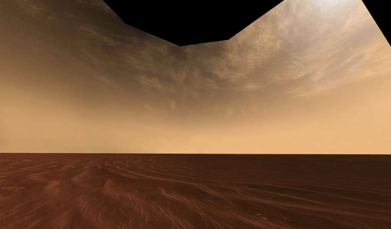 Curiosity captures gravity wave shaped clouds on Mars