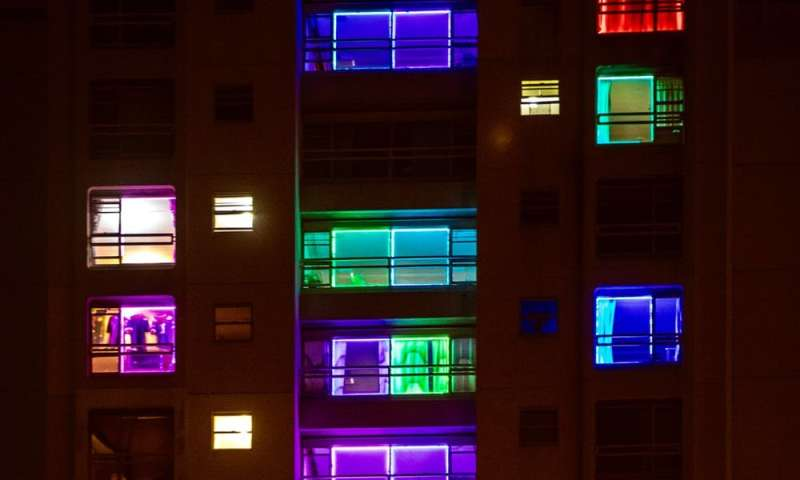 Digital lighting technology allows residents of a building slated for demolition to express how they feel. Credit Jessica Hromas.   & space isnu0027t replacing public space and might even help make it better azcodes.com