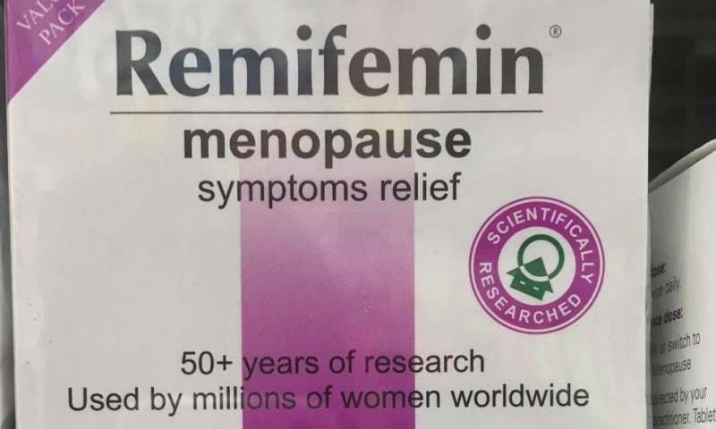 Do meds like Remifemin really ease hot flushes and night sweats in menopausal women?