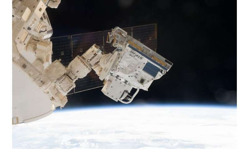 Experiment aboard space station studies 'space weather'