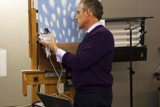 Experts try to keep Georgia O'Keeffe paintings from fading