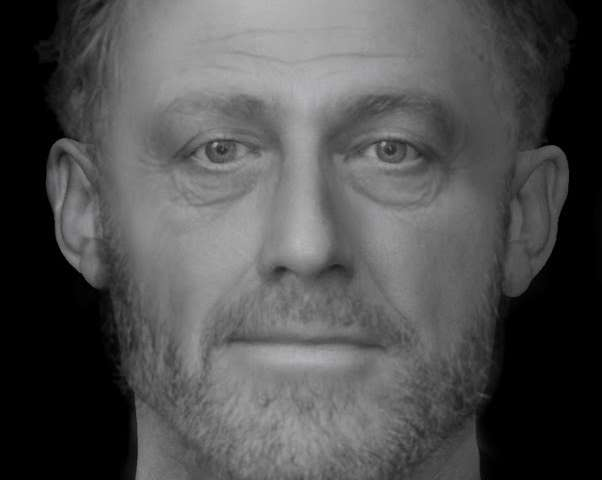 Face of 'ordinary poor' man from medieval Cambridge graveyard revealed