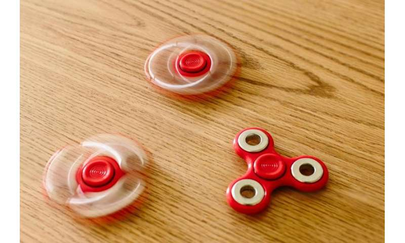 Fidget spinners are the latest toy craze, but the medical benefits are unclear