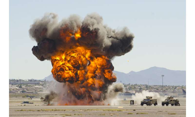 five of the most explosive nonnuclear chemicals ever made