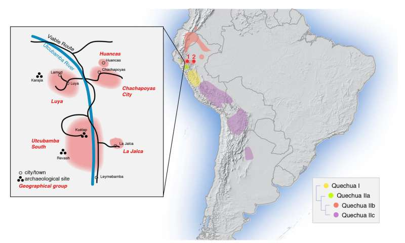 Genetics preserves traces of ancient resistance to Inca rule