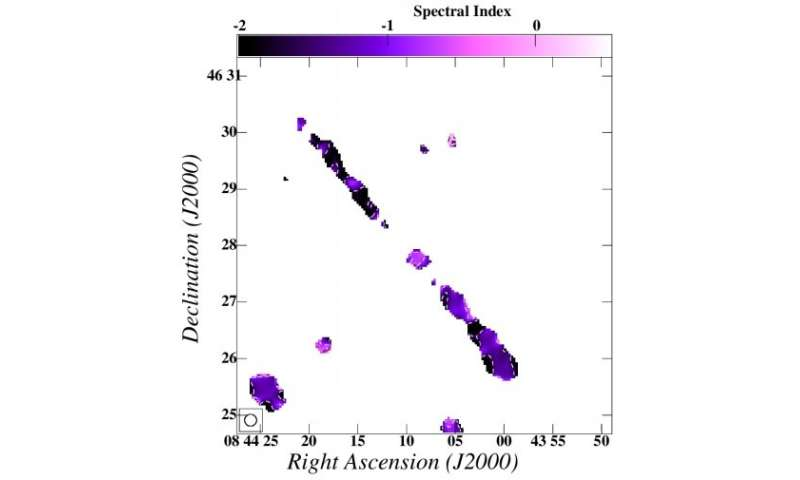Giant radio galaxy found by Indian astronomers