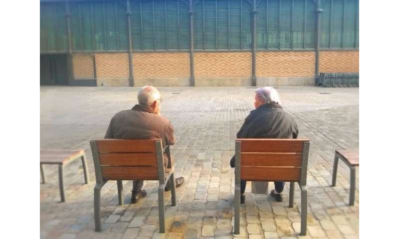 Higher risk of dementia among frail older adults