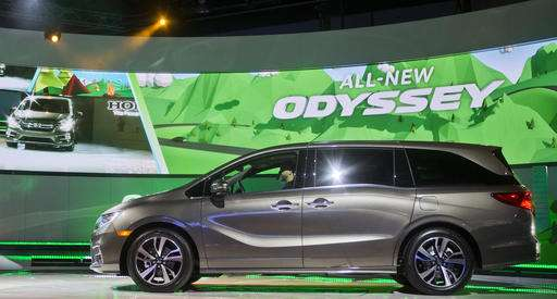 The New Honda Odyssey Minivan Is Unveiled At North American International Auto Show Monday Jan 9 2017 In Detroit AP Photo Tony Ding