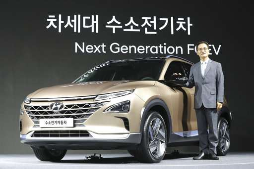 Hyundai unveils new fuel cell SUV with longer travel range