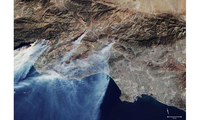 Image: California in flames