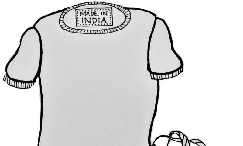 It would cost 20 cents more per T-shirt to pay an Indian worker a living wage