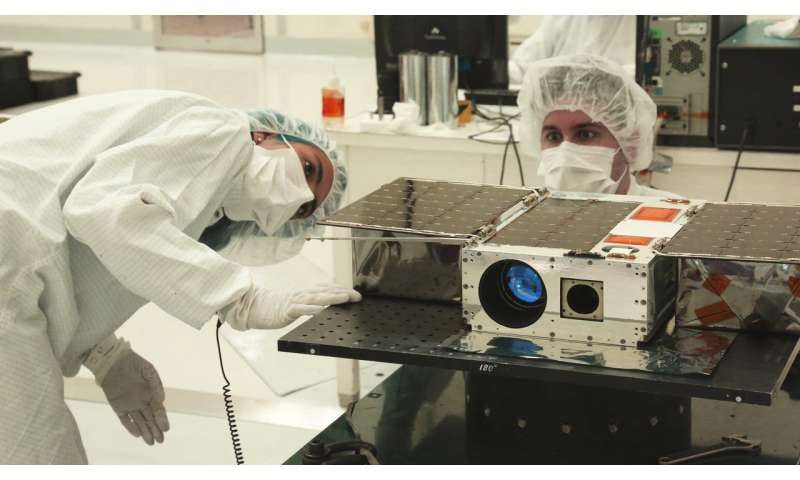 JPL deploys a CubeSat for astronomy