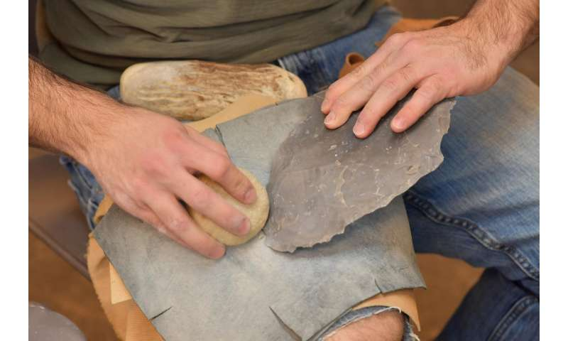Kent State archaeologist explains innovation of 'fluting' ancient stone weaponry