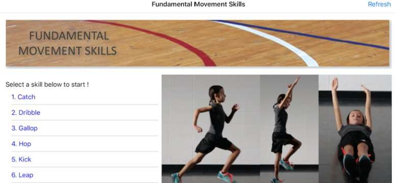 Kinesiology researcher designs new app to help people master fundamental movement skills
