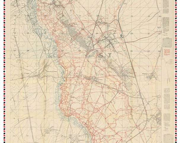 Digitally assembled map offers insights into the Battle of Vimy Ridge