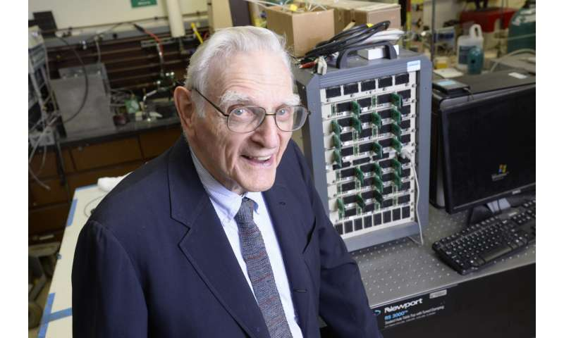 Lithium-ion battery inventor introduces new technology for fast-charging, noncombustible batteries