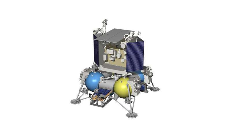 Low-cost clocks for landing on the moon