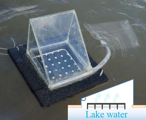 Move over Bear Grylls! Academics build ultimate solar-powered water purifier