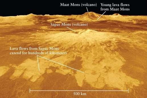 Mystery of rare volcanoes on Venus