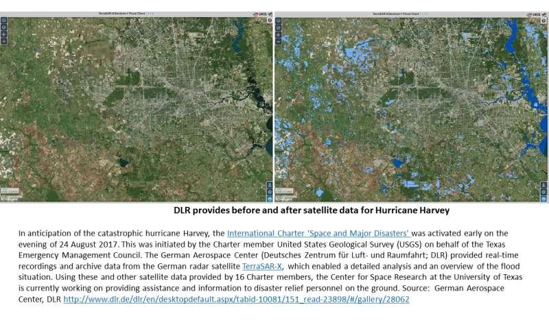 NASA finding Harvey's strongest storms