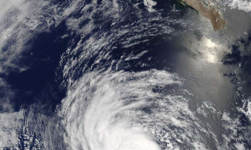 NASA gives eastern Pacific Ocean's Hurricane Eugene 'eye exam'