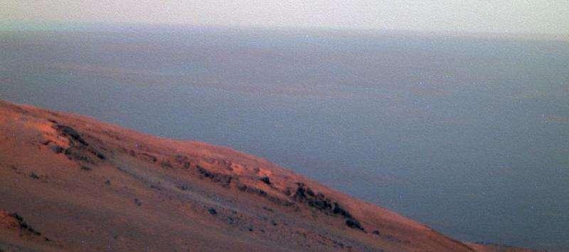 NASA Mars orbiter tracks back-to-back regional storms
