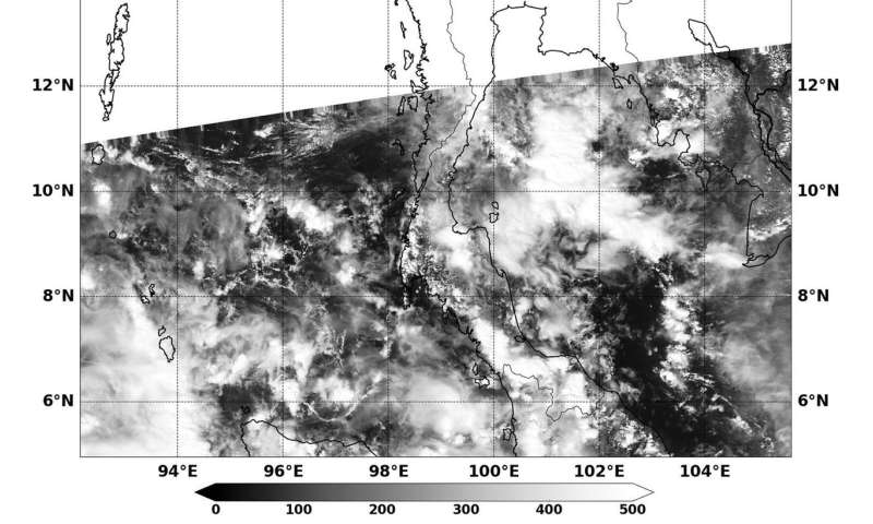 NASA sees the end of Tropical Depression 29W
