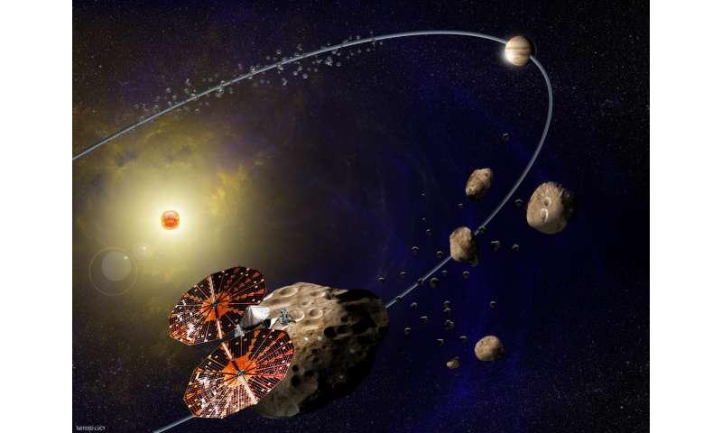 NASA selects mission to study Jupiter's Trojan asteroids