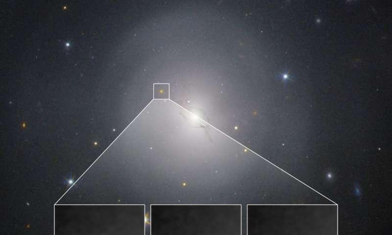 NASA's Hubble studies source of gravitational waves